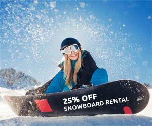 25% Off Soldeu Snowboard Hire