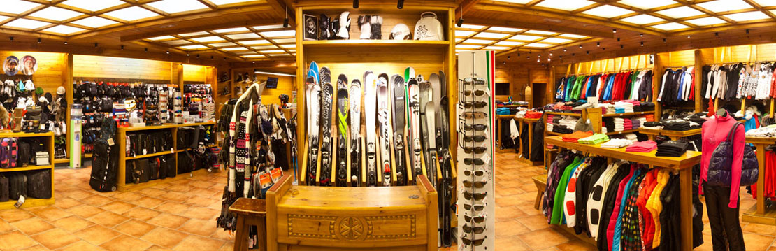Sports Calbo Shop Interior