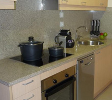 Kitchen at Apartments Superior El Tarter