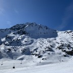 View of the mountain from Enradort chairlift