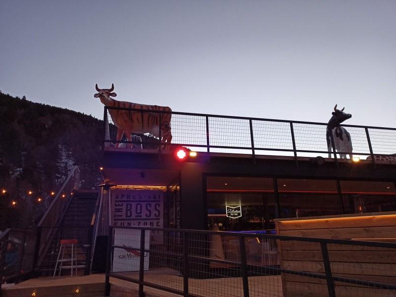 The new apres ski terrace El Boss