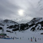 Snow clouds rolling into El Tarter, taken from the bottom of TSD6 Llosada chairlift