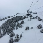Beautiful views from the Solana chairlift