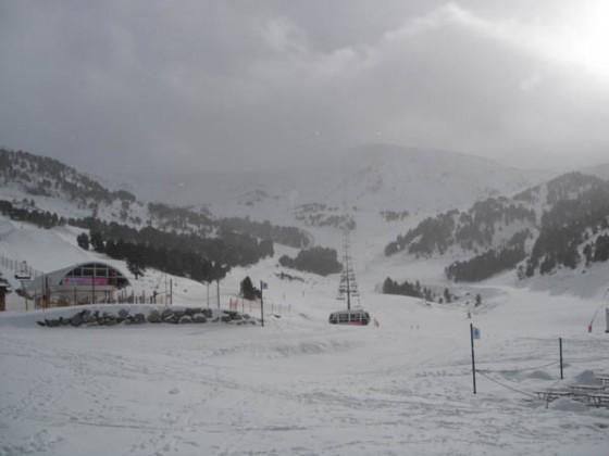 6th December snowfall at the top