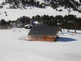 El Tarter Ski School At The Top Of The Gondola
