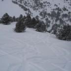 Off piste under Tosa Espiolets chair 26/03