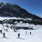 El Tarter Ski School building
