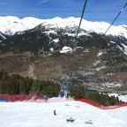 TSD4 El Tarter chairlift over Aliga Black run