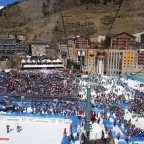 Approx 6000 people came to watch the last day of the FIS World Cup Finals 17.03.2019