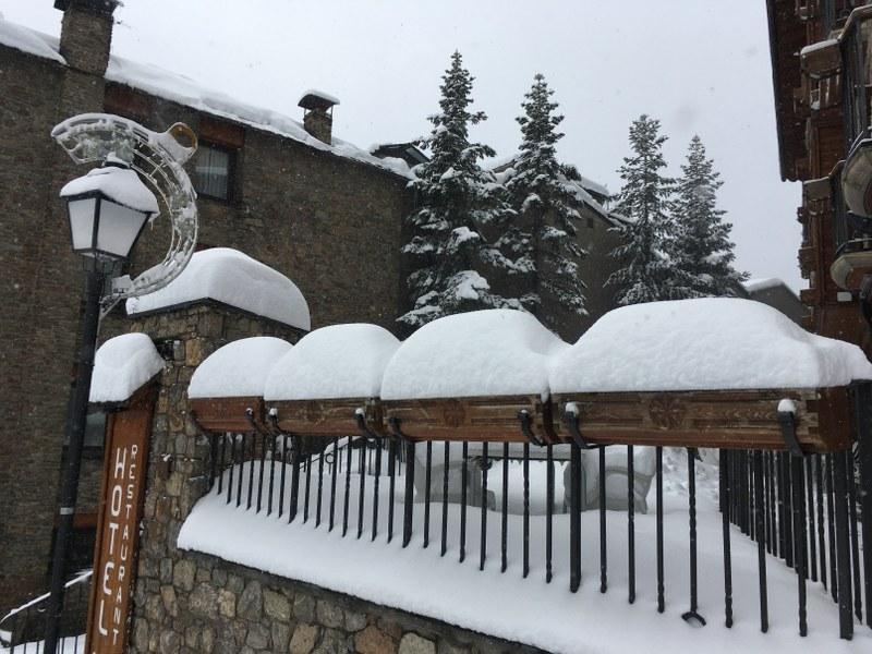40 cm of fresh snow in Soldeu today