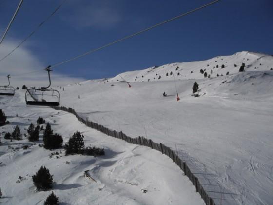 'Os' blue slope