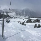 Tosa Espiolets chairlift above El Tarter Snow Park