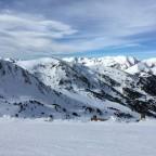 Beautiful views from blue Esquirol run
