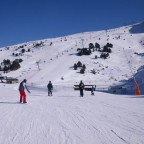 Coming down from Soldeu peak - 12/2/2011