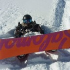 Buried in powder!