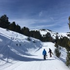 Secret track from Pla de les Pedres lift to Solana rope tow