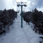 Soldeu Chairlift 23rd March