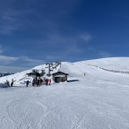 Approach to Els Clots chairlift