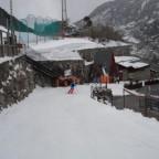 Skiing round to parking and gondola 26/03