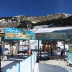 The two chairlifts of Canillo - Tirolina and Portella