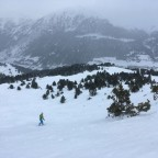 Cloudy day but awesome snow conditions!