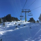 The chairlift Tosa Espiolets was open today