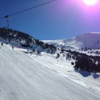 Jumps in El Tarter Snowpark 15/02
