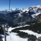 View of Canillo sector from TSD4 Portella