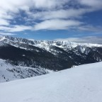 View of Pyrenees from Els Clots chairlift