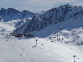 View From The Top Of Llosada Chair Lift