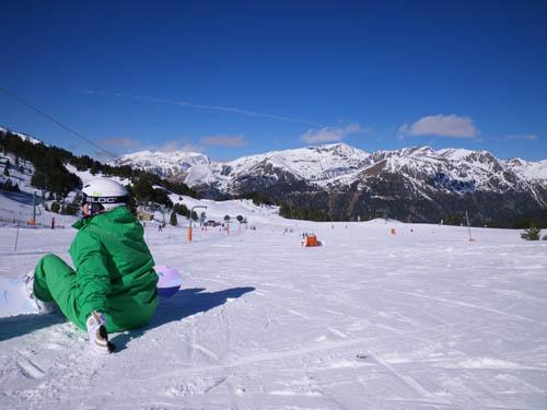 Soldeu beginners area - 16/2/2011