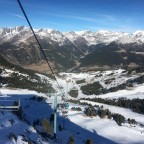 New Year's Day in Grandvalira El Tarter - Llosada chairlift
