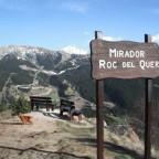 Roc del Quer Viewpoint on Col d'Ordino