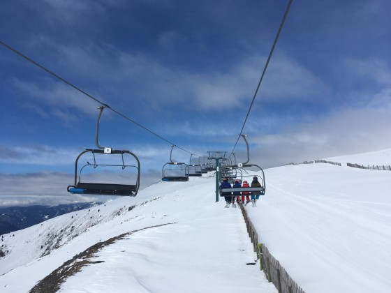 Els Clots chairlift from El Tarter to top of Rossinyol run (Canillo)
