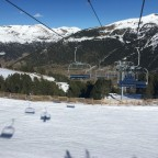 Views onto the Os blue run