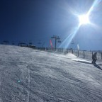 The red slope Esparver in El Tarter