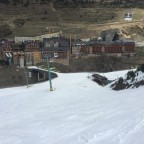 Black Run Avet on to bottom of slopes in Soldeu