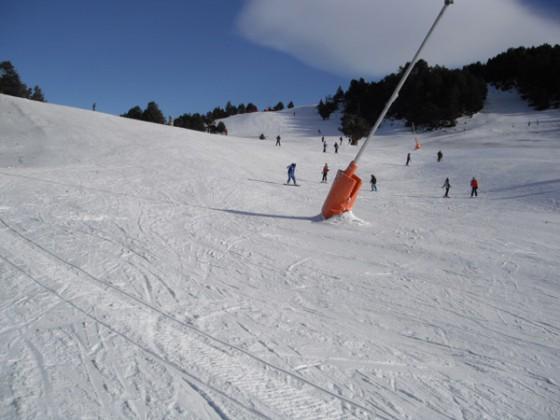 'Gall de Bosc' blue run from Soldeu