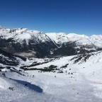 Incredible views from the top of Llosada chairlift looking towards El Tarter