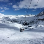 Entradort chairlift, and red Entradort run - Encamp