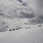 Soldeu valley, looking towards Solanelles and Assaladores chairlifts