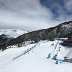 Canillo beginners area and El Forn restaurant