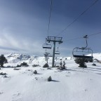 Gorgeous views on the Solana chairlift