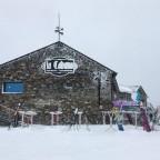 La Cabana on a frosty, snowy day!