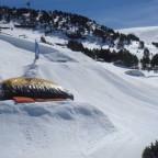 Big Air Bag At El Tarter Snow Park