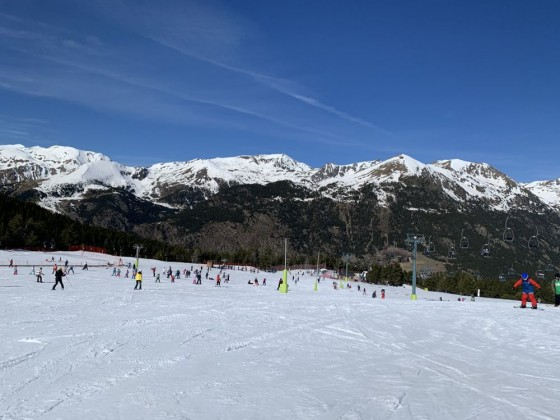 Pi de Migdia beginner's slope