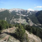 View Over to Canillo Ski Station
