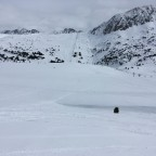 Untouched snow in Encamp