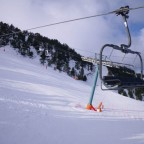 View from the chair lift up to Soldeu - 21/2/2011