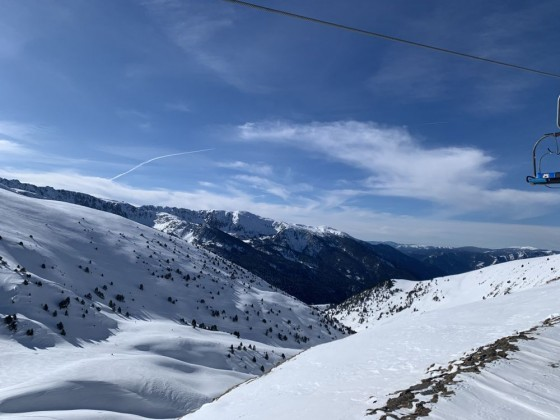 Views from Els Clots chairlift